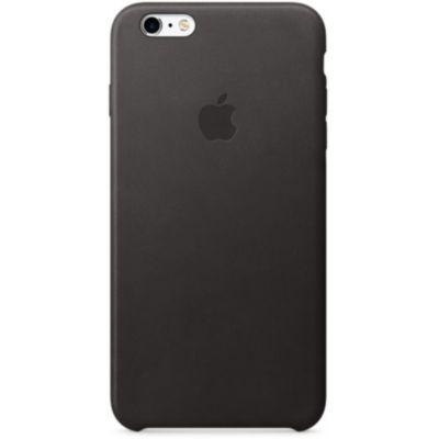 coque apple iphone 6s plus cuir noir coque etui prot ge cran sur boulanger. Black Bedroom Furniture Sets. Home Design Ideas