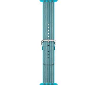 Apple nylon tissé bleu azur 38mm