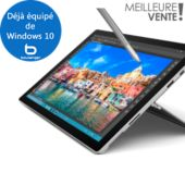Tablette Windows MICROSOFT W10 Surface Pro 4 128Go Intel Core i5