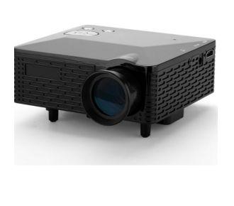 Auto Hightech Mini Projecteur vidéo - 60 Lumens, 300: