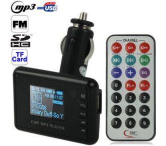 Auto Hightech Transmetteur FM et Lecteur MP3 (USB-SD-M