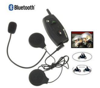 Auto Hightech Kit Bluetooth casque Moto Mains-libres S