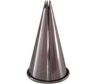 De Buyer Douille cannelée inox a7 7 dents 0.35cm