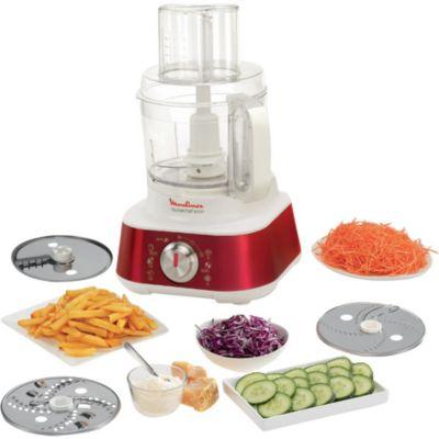 Moulinex fp662g25 masterchef 8000 rouge hachoir chez boulanger - Robot cuisine masterchef ...