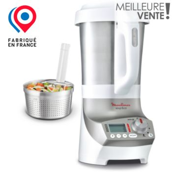 Moulinex soup co lm908110 panier vapeur silver blender - Moulinex soupe and co ...
