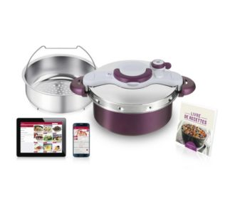 Tefal Clipso Minut' Duo 5L Violet