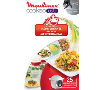 Moulinex COOKEO 25 recettes méditérrannée