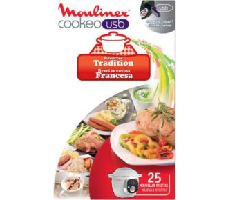 Moulinex COOKEO 25 recettes tradition