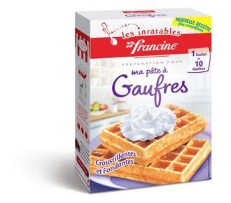 Francine PREPARATION POUR GAUFRES
