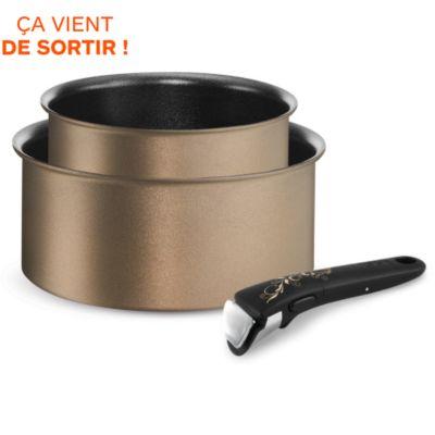 Batterie de cuisine vos achats sur boulanger - Batterie cuisine induction manche amovible ...