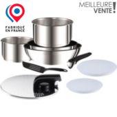 Batterie de cuisine TEFAL Ingenio 5 inox 9 pièces