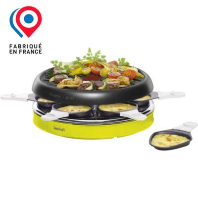 appareil raclette multifonction tefal deco colormania re128012 raclette et fondue sur. Black Bedroom Furniture Sets. Home Design Ideas