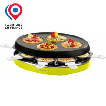 tefal re138o12 colormania vert 8c raclette fondue boulanger. Black Bedroom Furniture Sets. Home Design Ideas