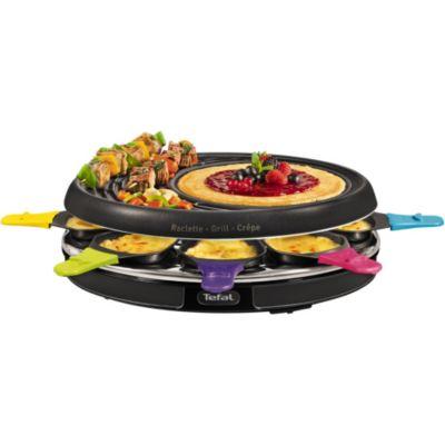 Raclette fondue vos achats sur boulanger - Raclette tefal 10 personnes ...
