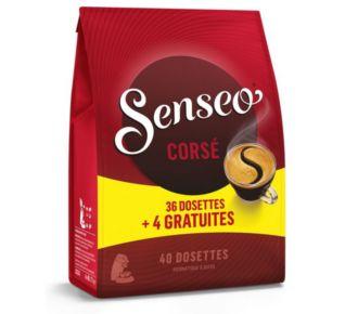 MDC Senseo Corsé 36 dosettes+4 gratuites