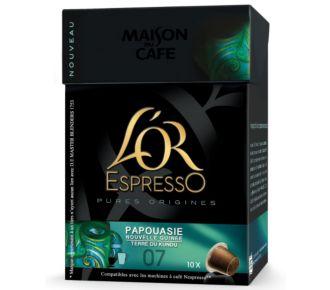 MDC L'Or EspressO Papouasie (10 capsules)