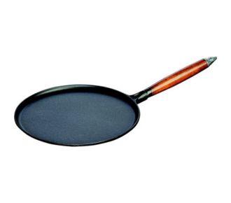 Staub Crêpière 28cm + spatule+ repartiteur