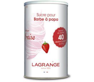 Lagrange barbe à papa fraise