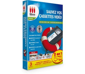 Avanquest Sauvez vos cassettes Vidéo