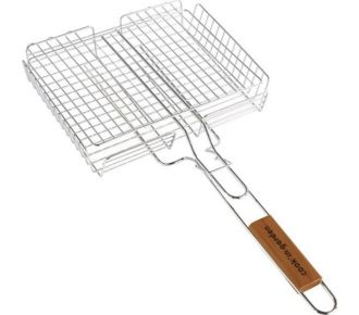 Cook'in Garden Grille barbecue cage 6 steaks 35x21cm