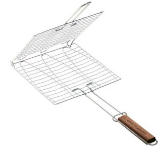 Cook'in Garden Grille barbecue 3 poissons 30x28cm