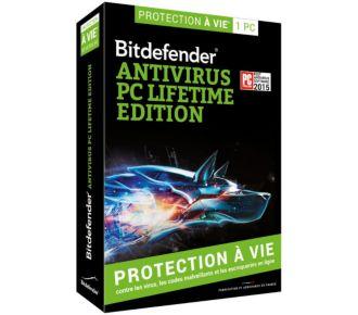 Bitdefender Antivirus Lifetime Edition 1 poste à vie