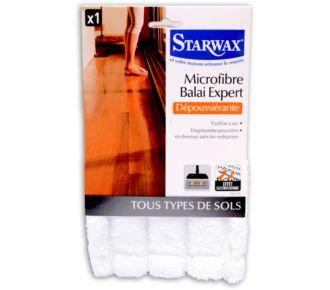 Starwax microfibre balai expert dépoussierante