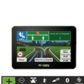 GPS MAPPY ULTI X575 CAMP