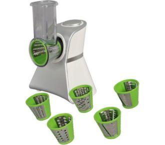 Kitchen Chef Robot 2en1 râpeur et trancheur 150w