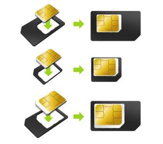 Essentielb pack de 3 cartes sim-nano sim- micro sim