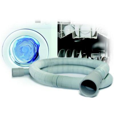 Tuyau raccord essentielb vidange de 4 m accessoire lave vaisselle s - Raccord evacuation lave vaisselle ...