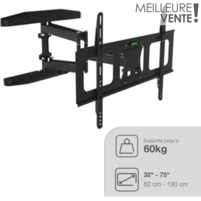 Table a manger ampm - Support tv mural orientable ...