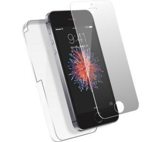 Essentielb iPhone 5S/SE+ protège écran verre trempé
