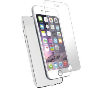 Essentielb iPhone 7 Pack Coque + Verre Trempé