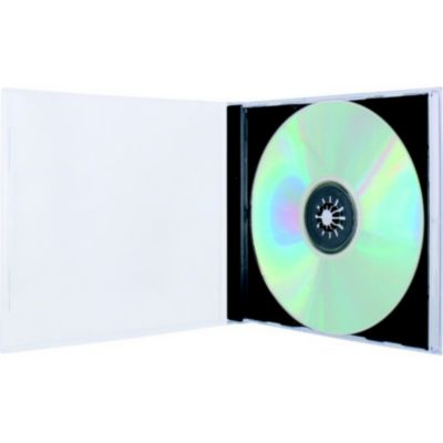 Boite à CD/DVD ESSENTIELB 10 CD noir simple