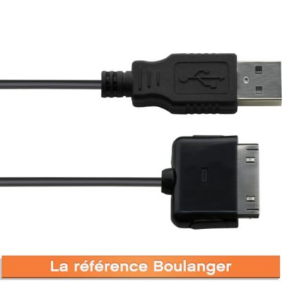 Chargeur iPhone ESSENTIELB USB iPhone 3G/4 charge et synchro