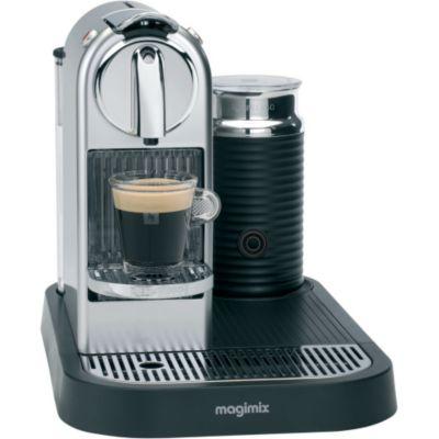 nespresso magimix m190 citiz milk chrome 11307. Black Bedroom Furniture Sets. Home Design Ideas