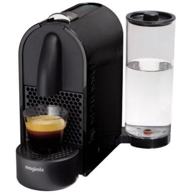 nespresso nespresso magimix u m130 noir 11340 chez boulanger. Black Bedroom Furniture Sets. Home Design Ideas