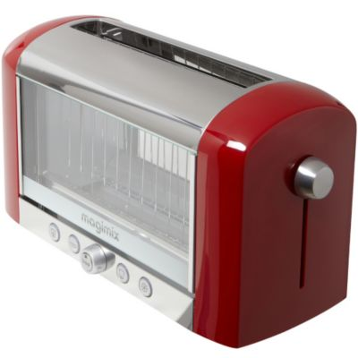 grille pain magimix 11528 vision rouge grille pain sur boulanger. Black Bedroom Furniture Sets. Home Design Ideas