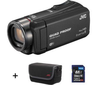 JVC GZ-RX615 noir Pack SD 16Go + Housse