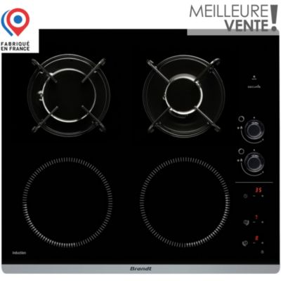 Plaque induction table induction vos achats sur boulanger - Table de cuisson mixte gaz induction 5 feux ...