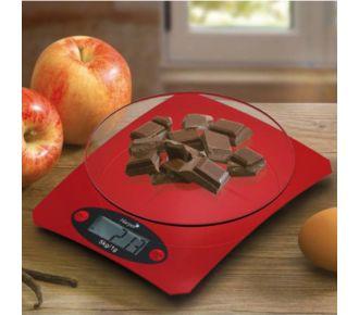 Harper Balance électronique 5kg-1g rouge
