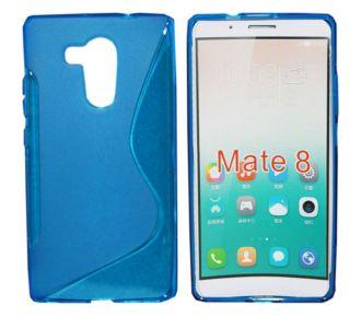 Lapinette Gel Vague S Huawei Ascend Mate 8 - Bleu