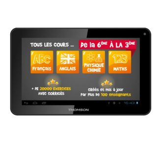 Thomson TEO-QD10BK8E 8Go Educative