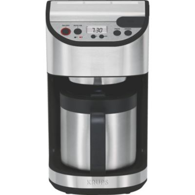 cafeti re cafeti re programmable krups yy8304fd thermos. Black Bedroom Furniture Sets. Home Design Ideas