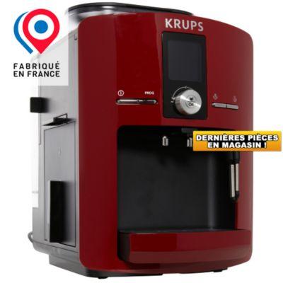 Expresso broyeur expresso broyeur krups pg yy8115fd rouge chez boulanger - Meilleur machine expresso broyeur ...