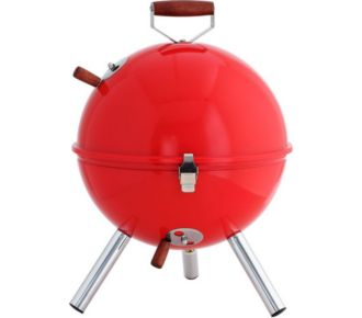 Idelice Boule - grille inox - rouge tomate