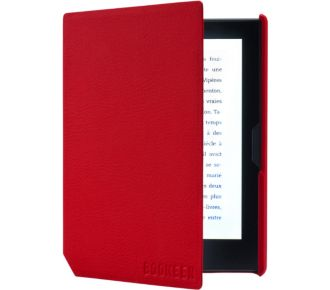 Bookeen Cover Cybook Muse rouge vermillon