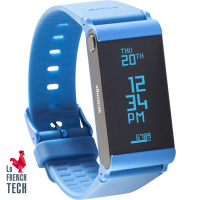 Bracelet connecté WITHINGS Pulse Ox bleu