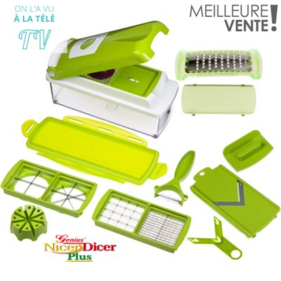 Ustensile de cuisine vos achats sur boulanger - Nicer dicer coupe legumes ...